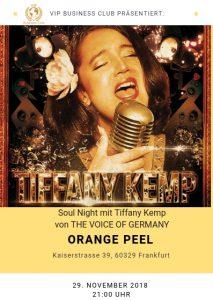 Soul Night mit Tiffany Kemp im Orange Peel in Frankfurt @ Orange Peel Frankfurt am Main | Frankfurt am Main | Hessen | Deutschland