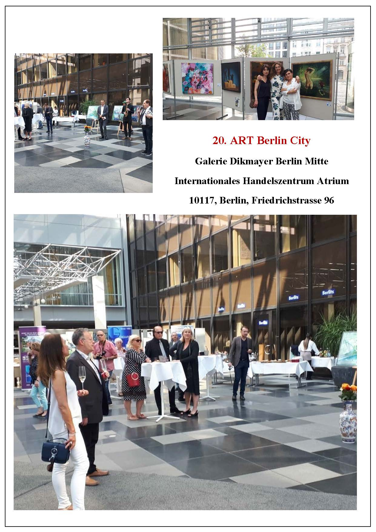 Art Messe, Dikmayer, Partner der Galerie Fedorova -  Galerie Berlin, Mitte