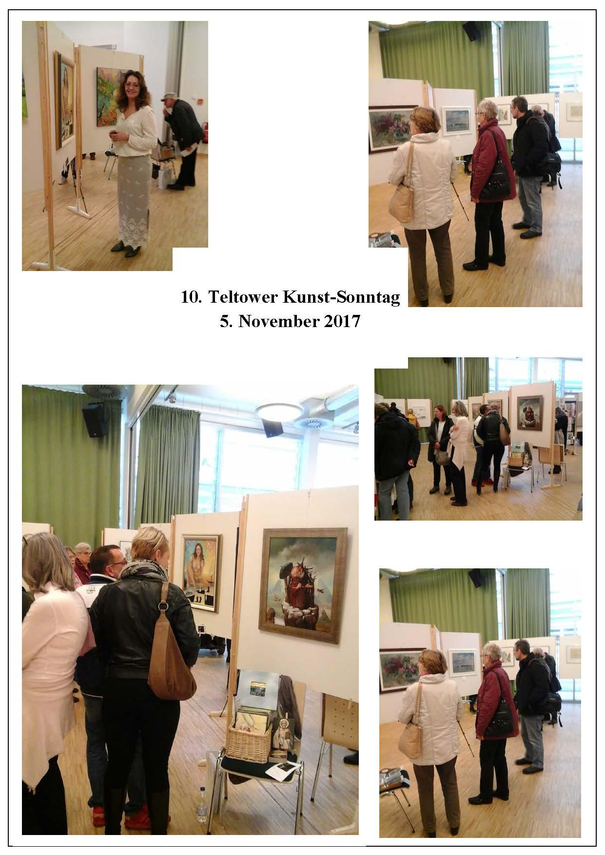 Teltow, Kunnstsontag, Galerie Fedorova präsentiert ihre Künstler