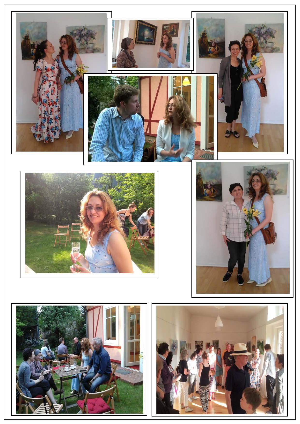 Partner der Galerie Fedorova - Galerie im Garten, Berlin