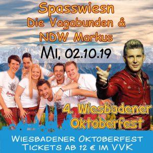 Oktoberfest Wiesbaden: Spaß Wiesn Die Vagabunden & NDW Markus @ Festplatz Gibber Kerb | Wiesbaden | Hessen | Deutschland