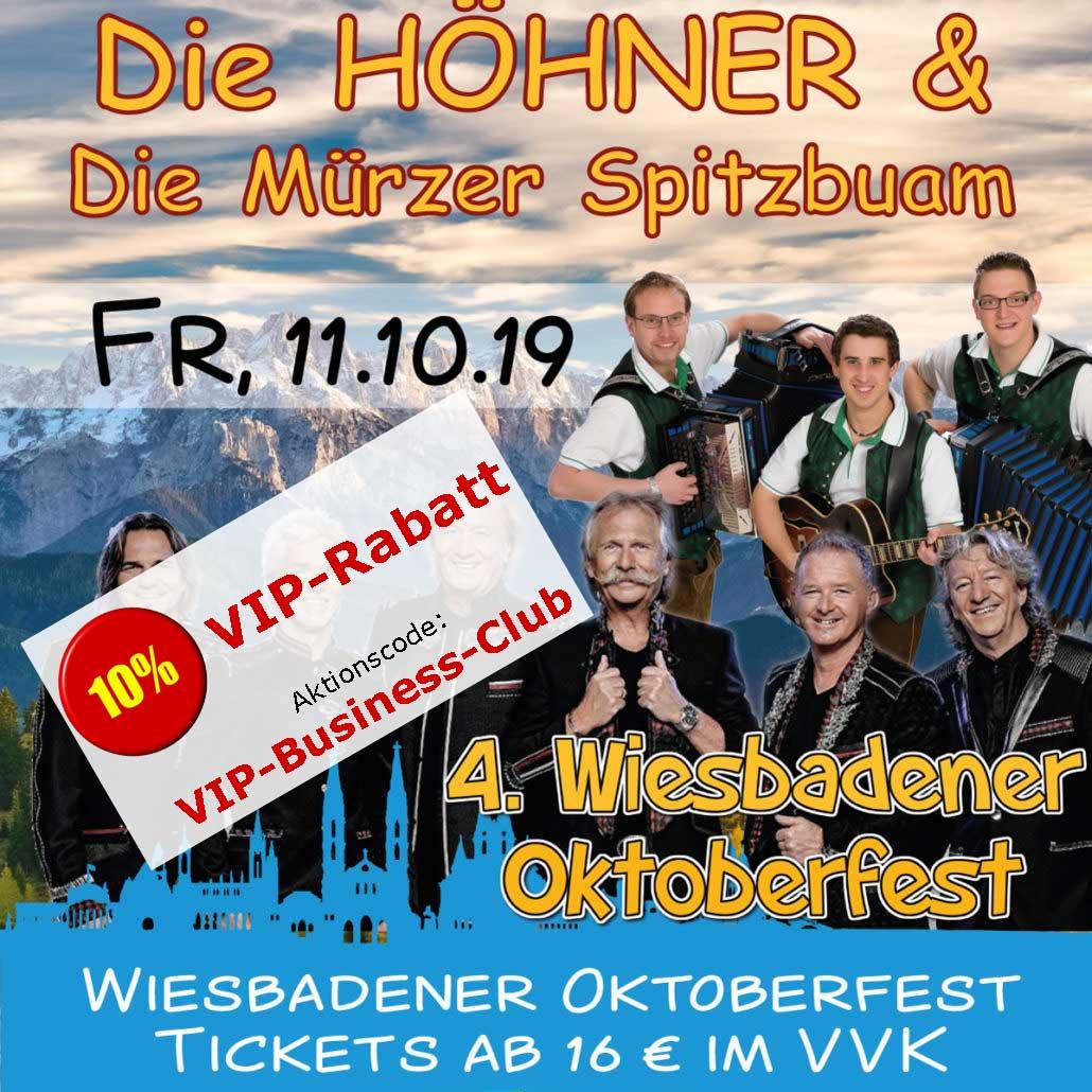 Oktoberfest Wiesbaden: Die Höhner & Die Mürzer Spitzbuam