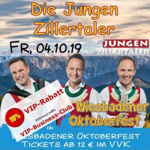 Oktoberfest Wiesbaden: Die jungen Zillertaler @ Festplatz Gibber Kerb | Wiesbaden | Hessen | Deutschland