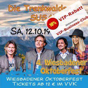 Oktoberfest Wiesbaden: Die Trenkwalder & Susal @ Festplatz Gibber Kerb | Wiesbaden | Hessen | Deutschland