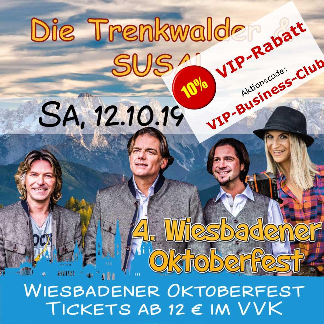 Oktoberfest Wiesbaden: Die Trenkwalder & Susal