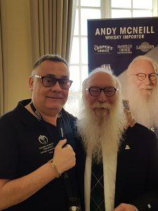 Dr. Wolf Gust und Andy McNeill