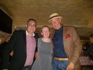 Deborah Stewart, Rüdiger Vitt und Dr. Wolf Gust