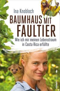 Buchcover von Dr. Ina Knobloch mit dem Titel Baumhaus mit Faultier