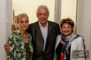 Dr. Ina Knobloch, Bert Schmitz und Moderatorin Julia Schmitz
