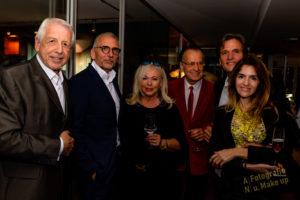 Bert Schmitz, Rainer Ballwanz, Tamara und Gerd Schüler und weitere Personen