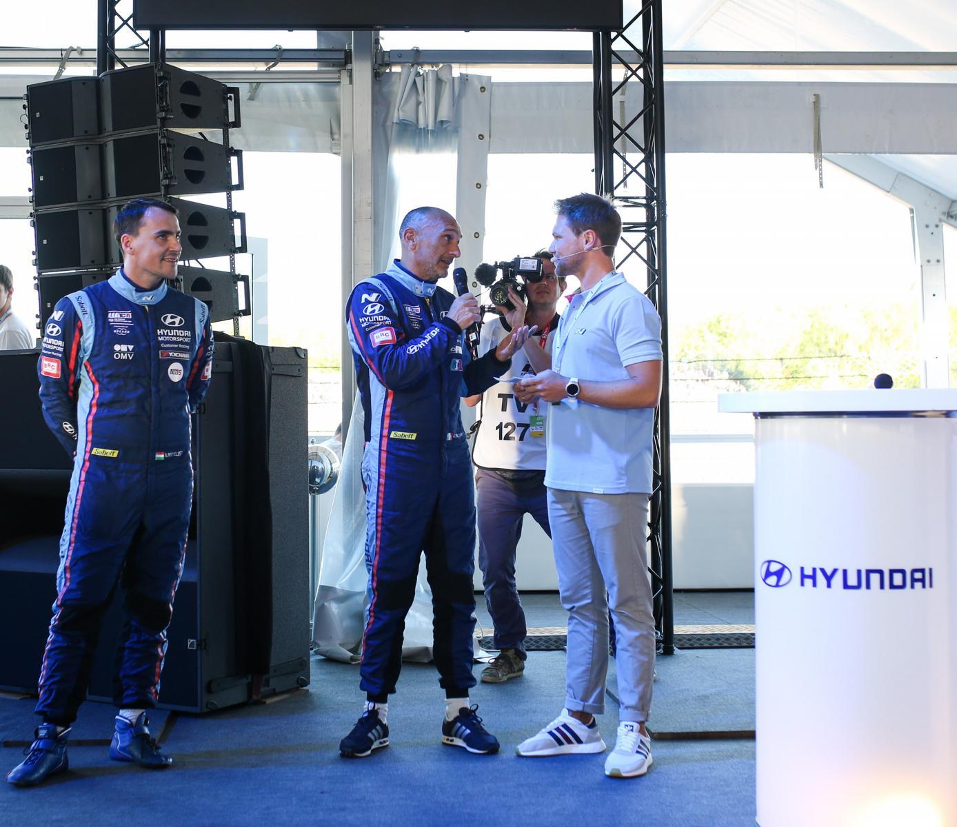 24-h-Rennen am Nürburgring, VIP-Hospatility für Hyundai