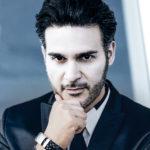 Sänger Moderator Fabrizio Levita