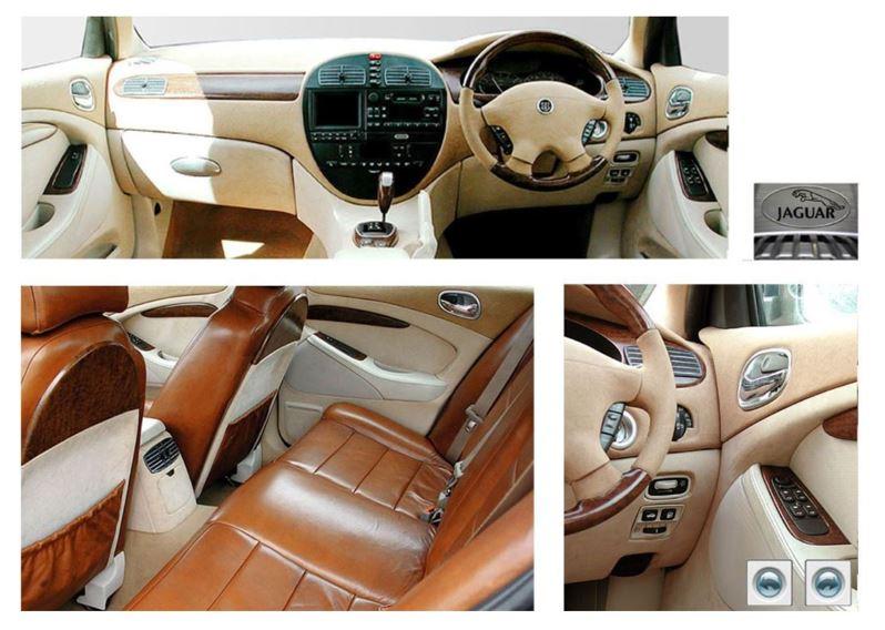 Jaguar S-Type Interior 2001